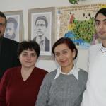 Сътрудниците на сектора Етнология на българите (2013 г.)